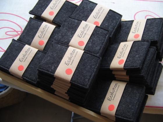 Business card holder business card holderso friendly wool felthandmade in switzerland colourmoves